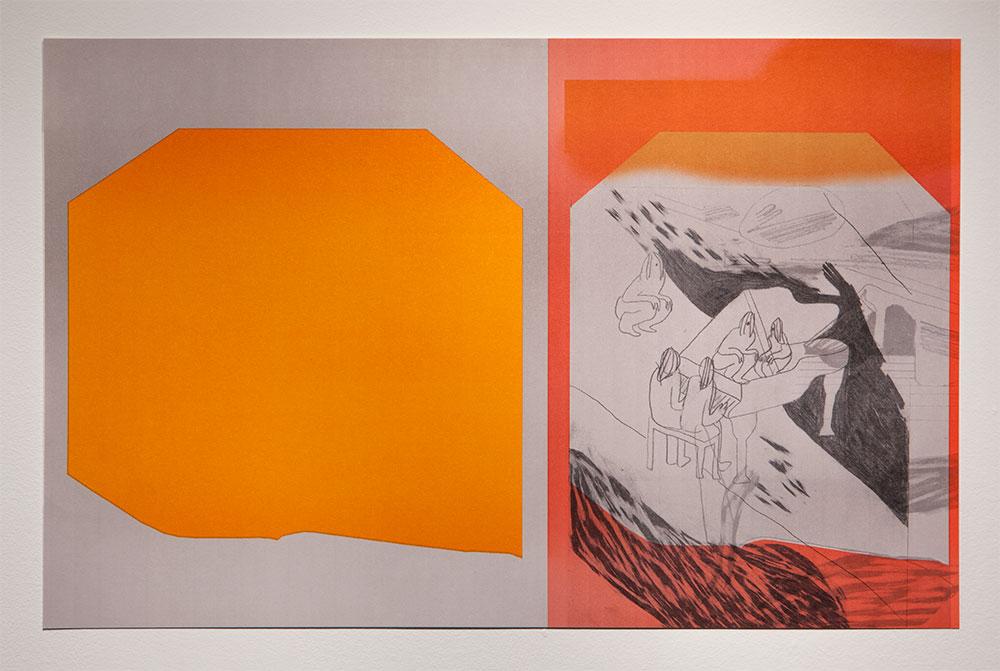 """Performance Problem"" - Offset Print, 11'' X 17''"